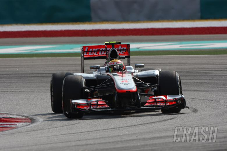24.03.2012- Qualifying, Lewis Hamilton (GBR) McLaren Mercedes MP4-27