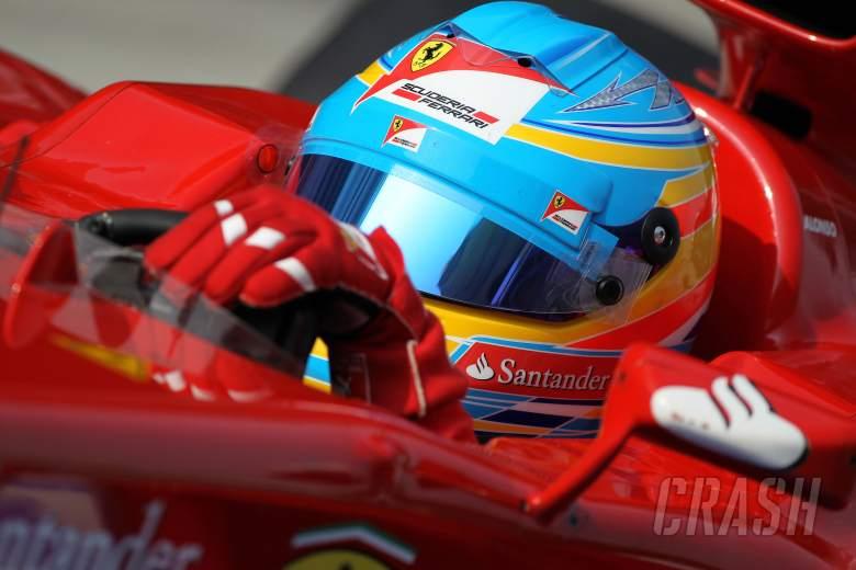 24.03.2012- Qualifying, Fernando Alonso (ESP) Scuderia Ferrari F2012