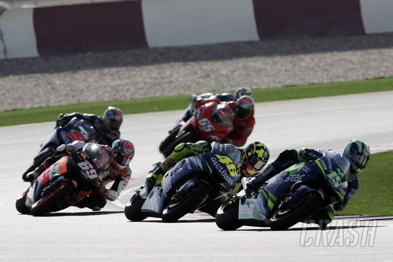 Gibernau, Rossi, Hayden et al, Qatar MotoGP Race 2005