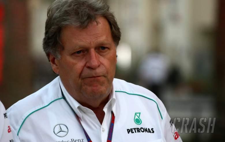 19.04.2012- Norbert Haug (GER), Mercedes Motorsport chief