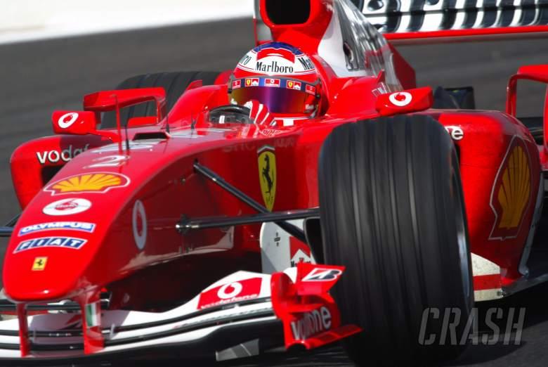 Rubens Barrichello - Ferrari F2004
