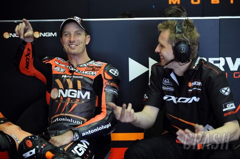 Edwards, Spanish MotoGP 2012