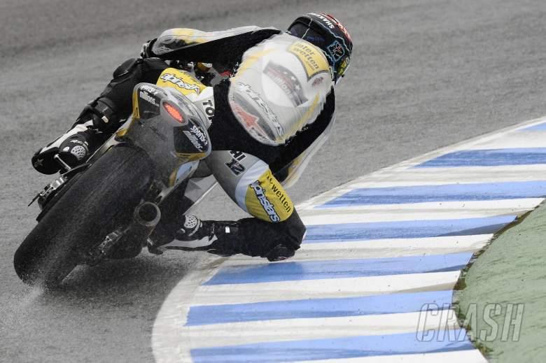 Luthi, Spanish Moto2 2012