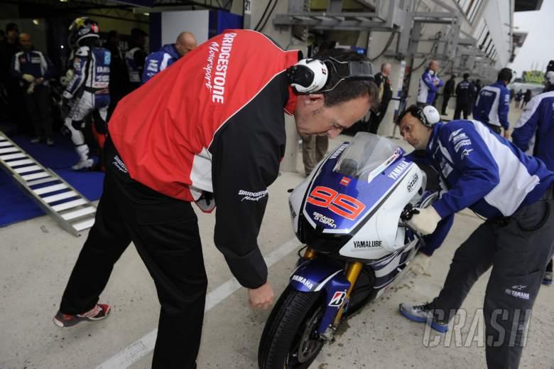 Bridgestone Technician, French MotoGP 2012