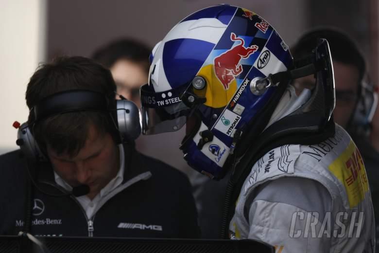 David Coulthard Mucke Mercedes