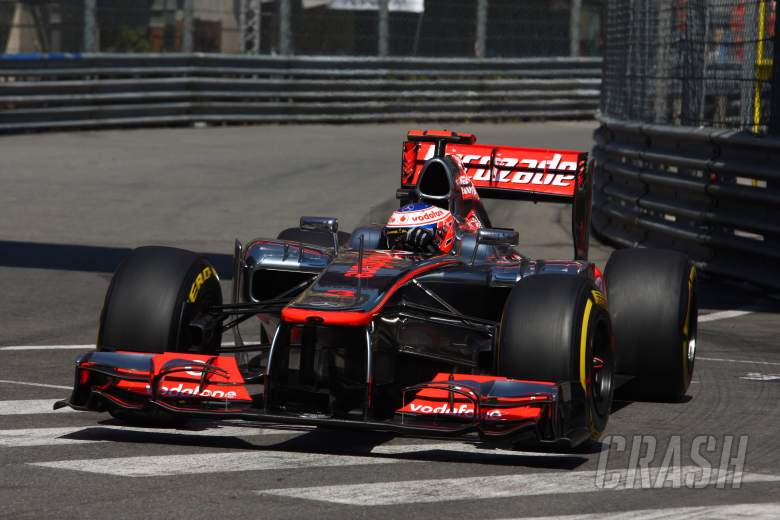 24.05.2012- Free Practice 1, Jenson Button (GBR) McLaren Mercedes MP4-27