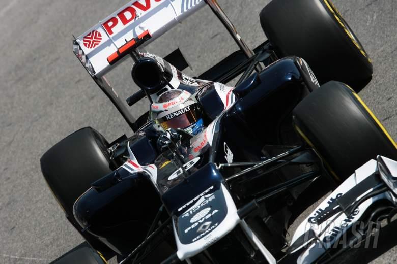24.05.2012- Free Practice 1, Pastor Maldonado (VEN) Williams F1 Team FW34