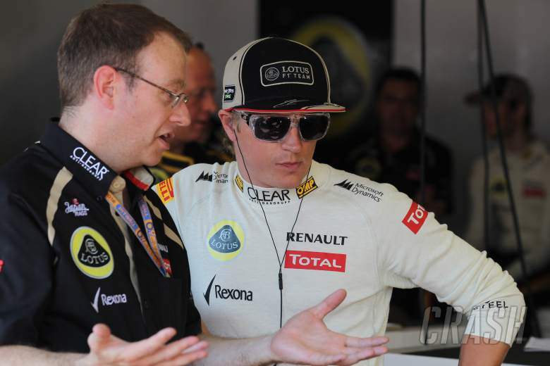 24.05.2012- Free Practice 1, Kimi Raikkonen (FIN) Lotus F1 Team E20