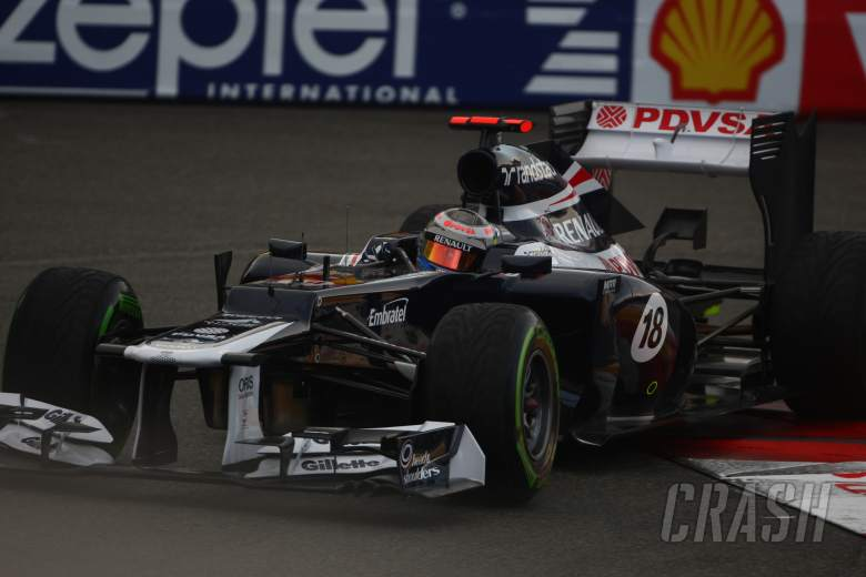 24.05.2012- Free Practice 2, Pastor Maldonado (VEN) Williams F1 Team FW34