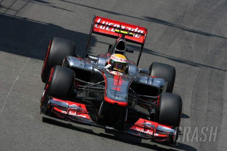 26.05.2012-  Qualifying, Lewis Hamilton (GBR) McLaren Mercedes MP4-27