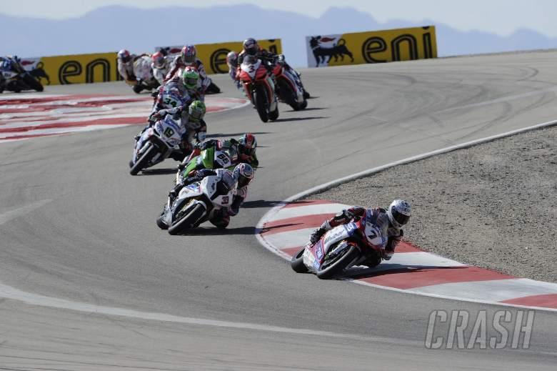 Checa, Race Re Start, USA WSBK Race 2 2012