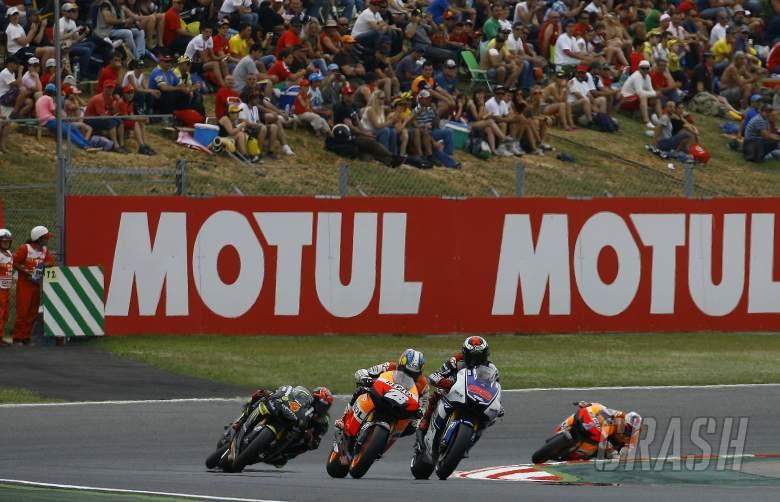 Lorenzo and Pedrosa, Catalunya MotoGP 2012