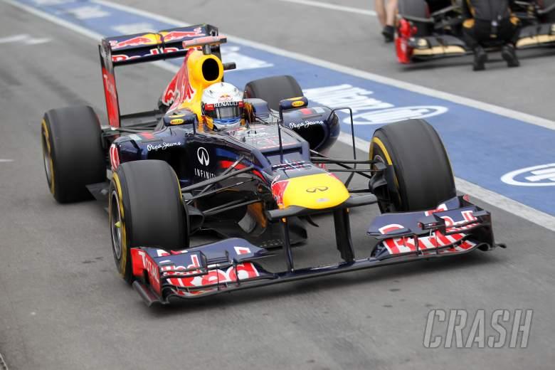 08.06.2012- Free Practice 2, Sebastian Vettel (GER) Red Bull Racing RB8