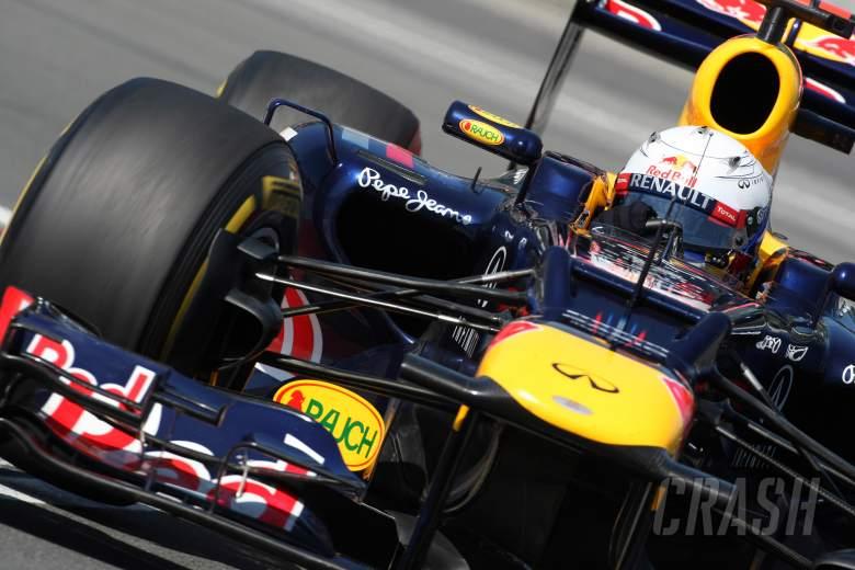 09.06.2012- Free Practice 3, Sebastian Vettel (GER) Red Bull Racing RB8