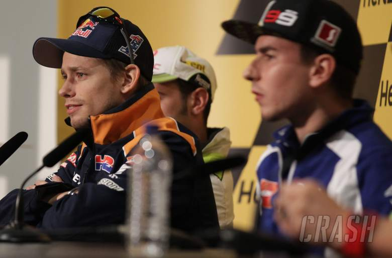 Stoner, British MotoGP 2012