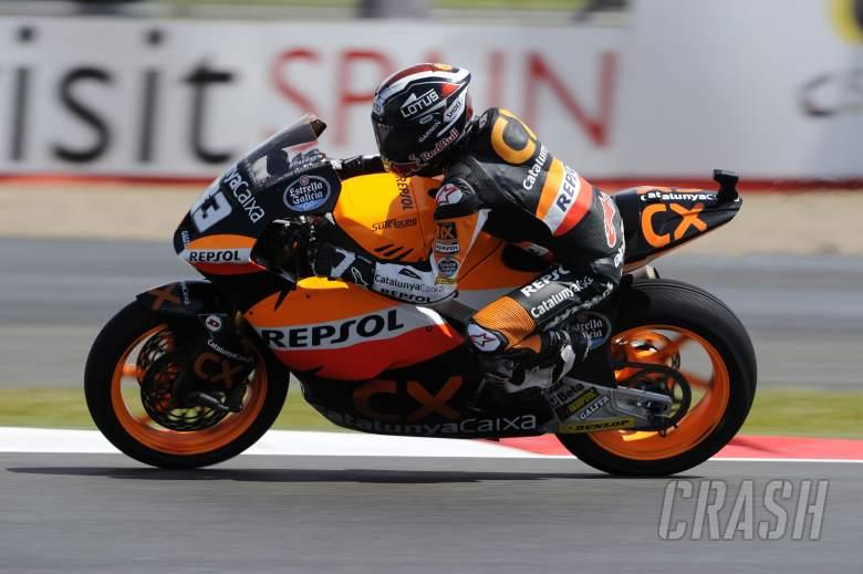 Marquez, British Moto2 2012