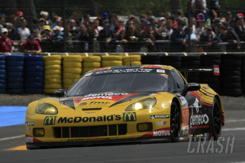 Patrick Bornhauser/Julien Canal/Pedro Lamy Larbre Competition Chevrolet Corvette C6 ZR1