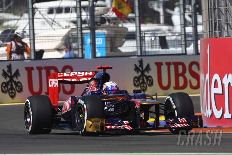 , , 23.06.2012- Free Practice 3, Daniel Ricciardo (AUS) Scuderia Toro Rosso STR7