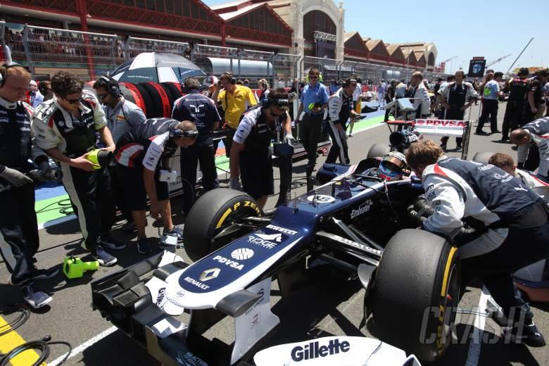 24.06.2012- Race, Pastor Maldonado (VEN) Williams F1 Team FW34