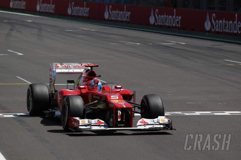 24.06.2012- Race, Fernando Alonso (ESP) Scuderia Ferrari F2012 race winner