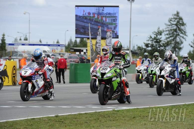 Sykes, Grid, Czech WSBK Race 2 2012