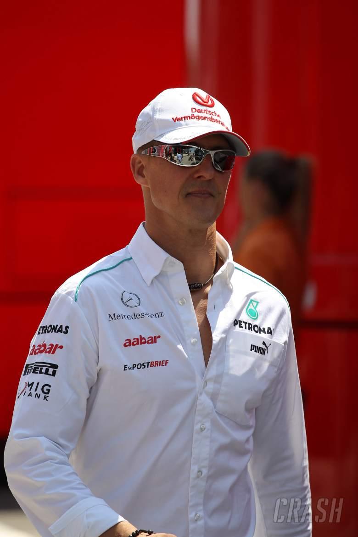 29.07.2012- Michael Schumacher (GER) Mercedes AMG F1 W03