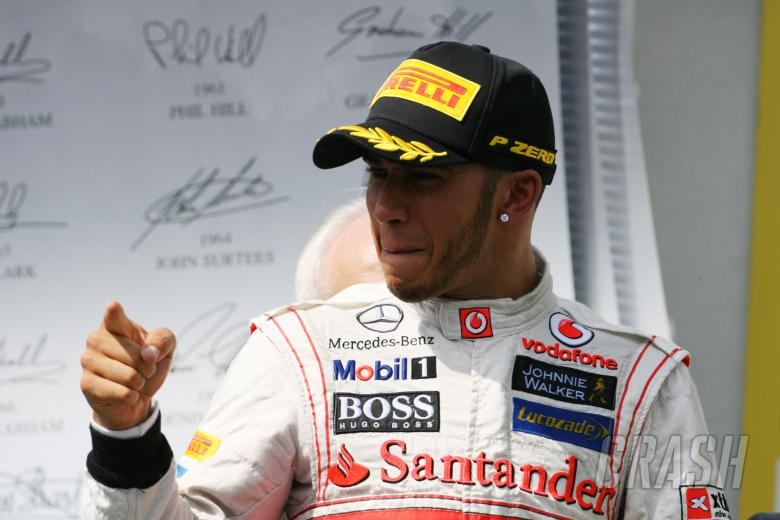 29.07.2012- Race, Lewis Hamilton (GBR) McLaren Mercedes MP4-27 race winner
