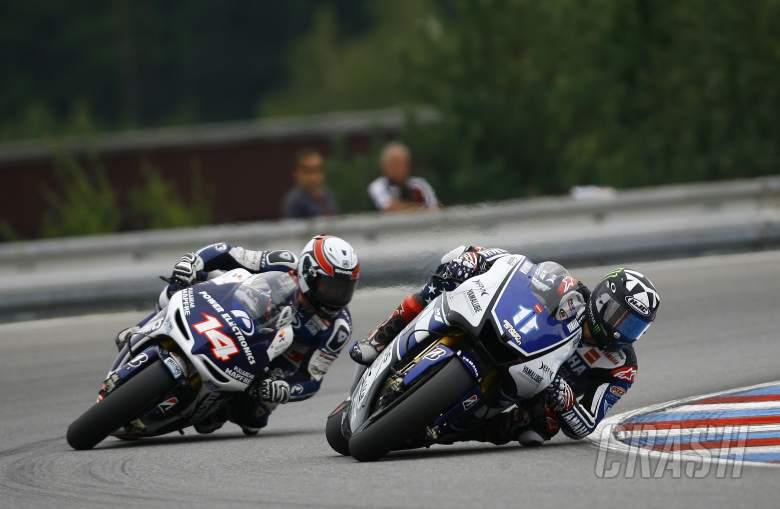 Spies and De Puniet, Czech MotoGP 2012