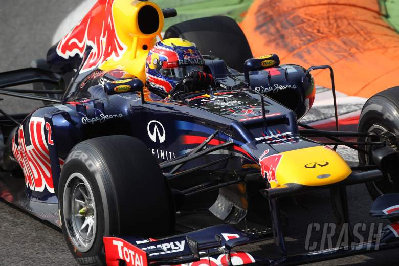 , , 08.09.2012- Free Practice 3, Mark Webber (AUS) Red Bull Racing RB8