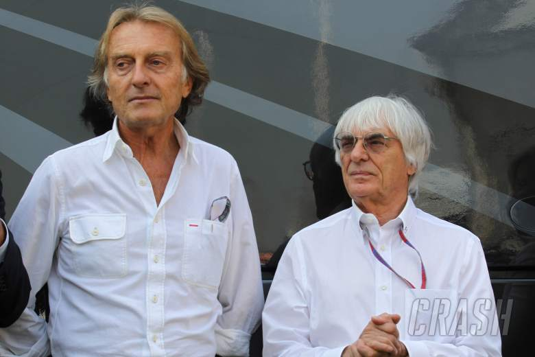 08.09.2012- Free Practice 3, Luca Cordero di Montezemolo (ITA), President Scuderia Ferrari and Berni