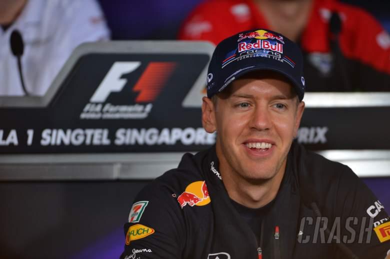 20.09.2012 - Press Conference: Sebastian Vettel (GER) Red Bull Racing RB8