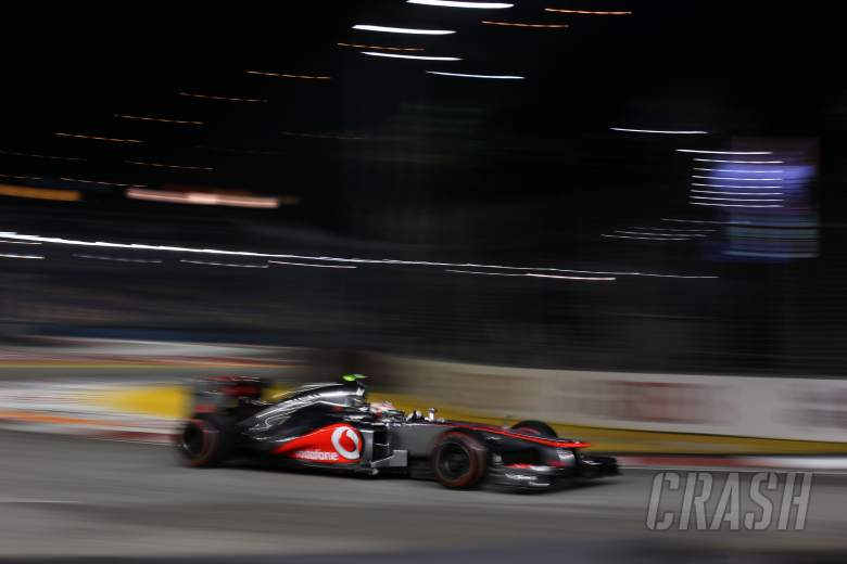 21.09.2012 - Free practice 2, Lewis Hamilton (GBR) McLaren Mercedes MP4-27