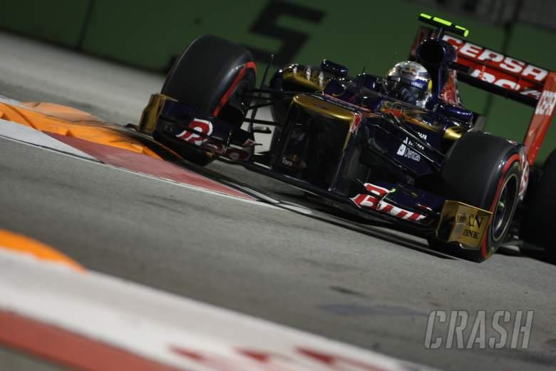 21.09.2012 - Free practice 2, Jean-Eric Vergne (FRA) Scuderia Toro Rosso STR7