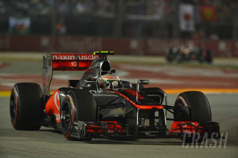 23.09.2012 - Race, Lewis Hamilton (GBR) McLaren Mercedes MP4-27