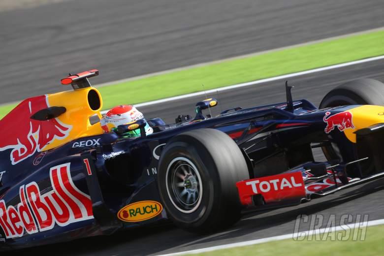 05.10.2012- Free Practice 2, Sebastian Vettel (GER) Red Bull Racing RB8