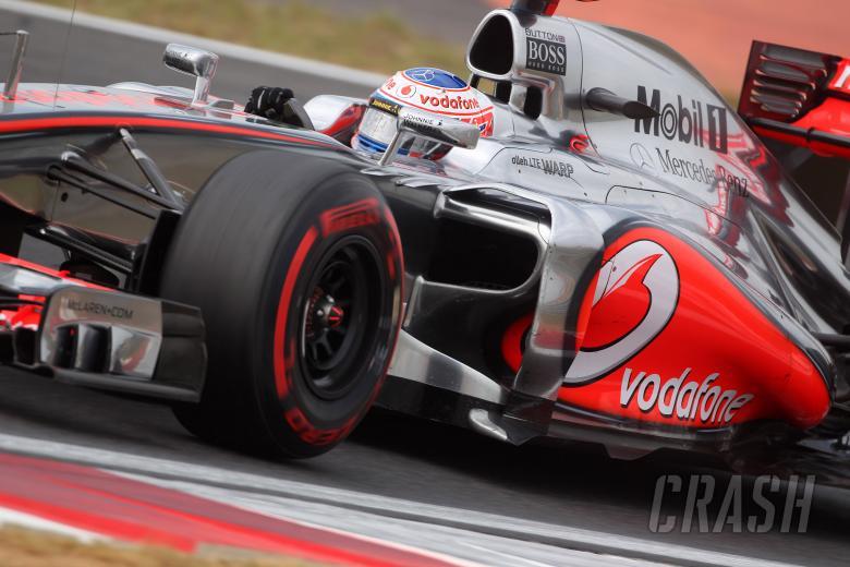 13.10.2012- Free Practice 3, Jenson Button (GBR) McLaren Mercedes MP4-27