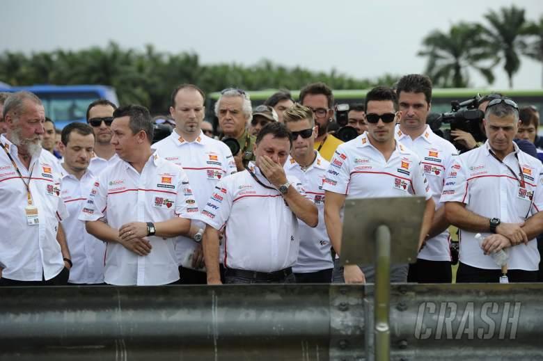 Gresini, Simoncelli memorial, Malaysian MotoGP 2012