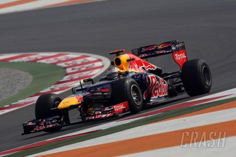26.10.2012- Free Practice 1, Sebastian Vettel (GER) Red Bull Racing RB8