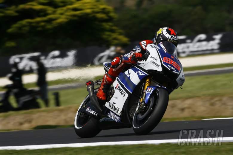 Lorenzo, Australian MotoGP 2012