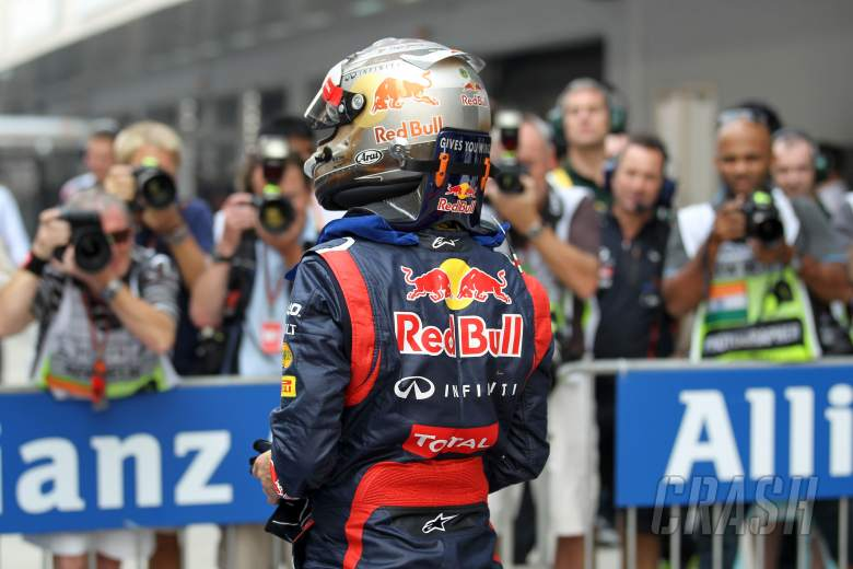 , , 27.10.2012- Qualifying, Sebastian Vettel (GER) Red Bull Racing RB8 pole position