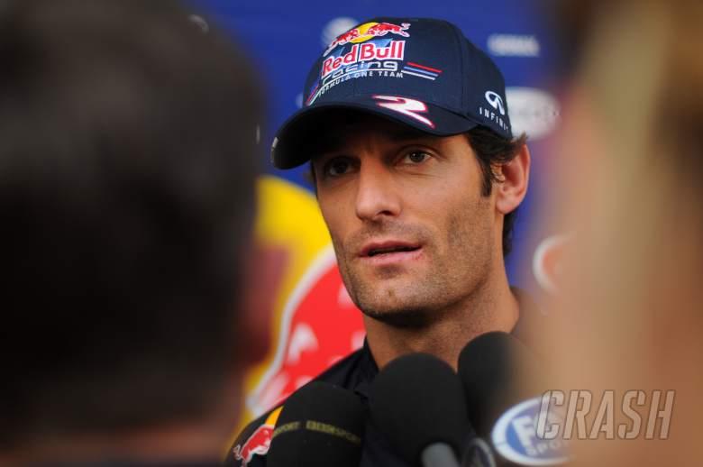 Mark Webber (AUS) Red Bull Racing RB8