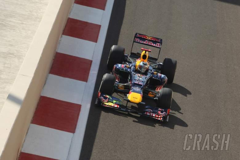 Free Practice 1: Sebastian Vettel (GER) Red Bull Racing RB8
