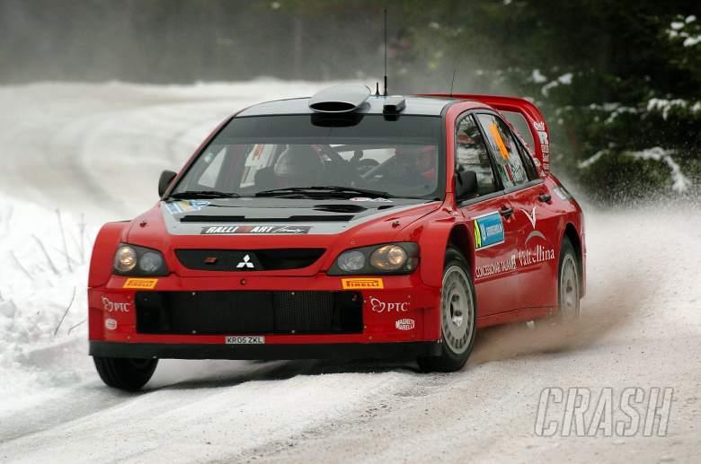 Gigi Galli / Giovanni Bernacchini - Mitsubishi Lancer WRC