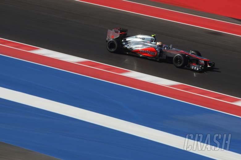 16.11.2012 - Free practice 2, Lewis Hamilton (GBR) McLaren Mercedes MP4-27