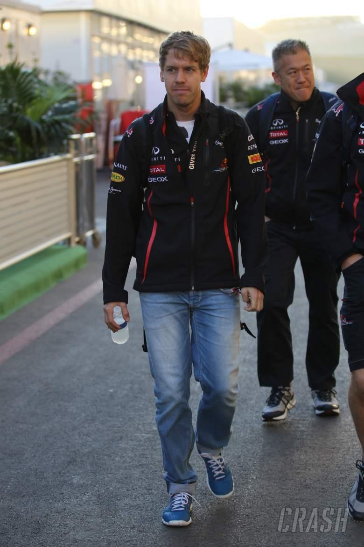 17.11.2012 - Sebastian Vettel (GER) Red Bull Racing RB8