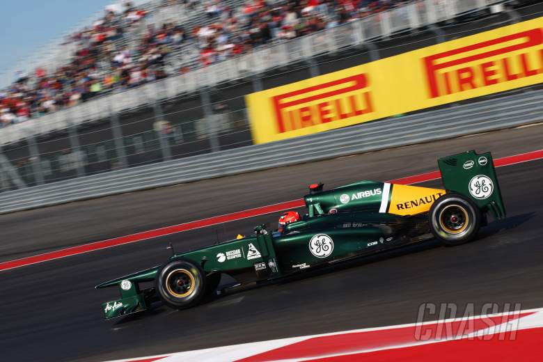 17.11.2012 - Free Practice 3, Heikki Kovalainen (FIN) Caterham F1 Team CT01