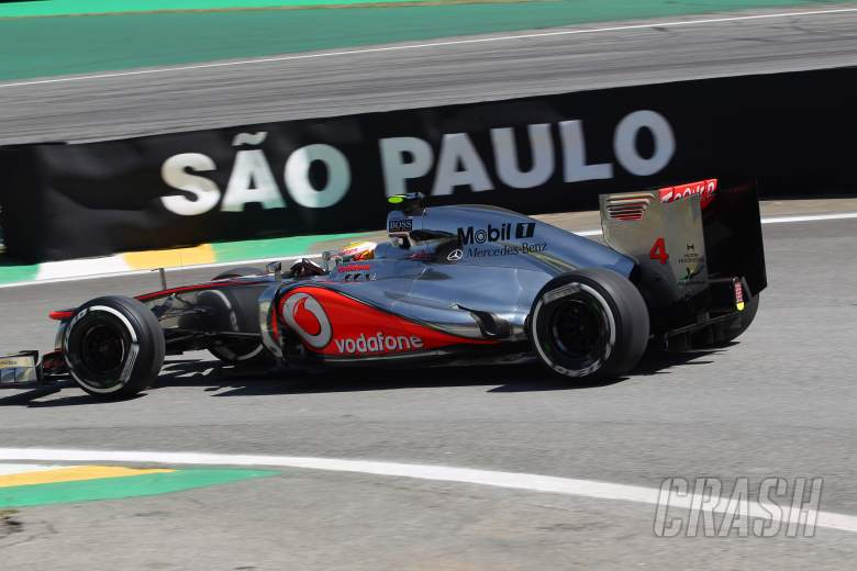 23.11.2012- Free Practice 2, Lewis Hamilton (GBR) McLaren Mercedes MP4-27