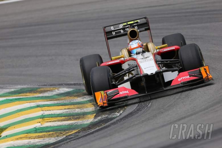 24.11.2012- Free Practice 3, Narain Karthikeyan (IND) HRT Formula 1 Team F112