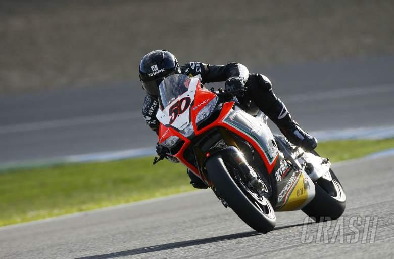 Guintoli, Jerez tests November 2012