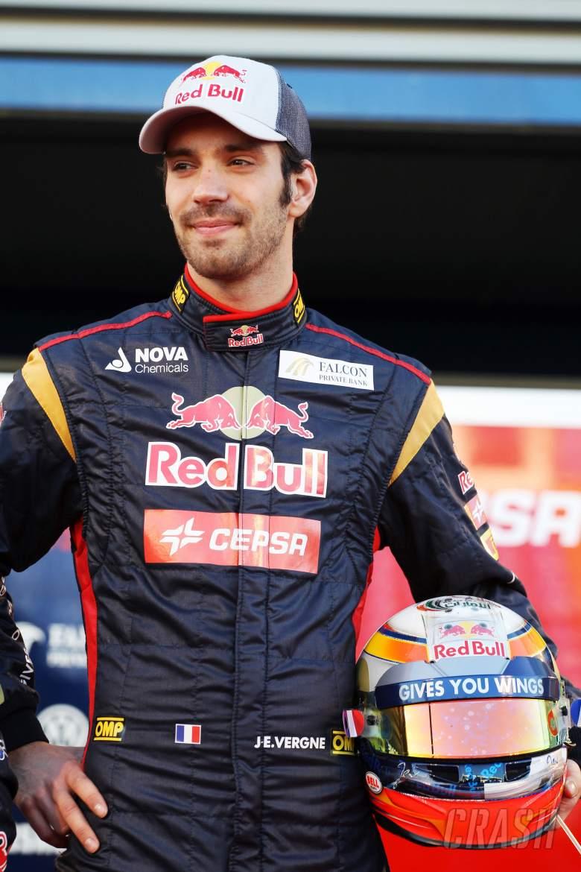 Jean-Eric Vergne (FRA) Scuderia Toro Rosso.